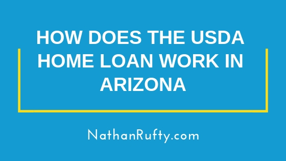 How does the USDA home loan work in Arizona