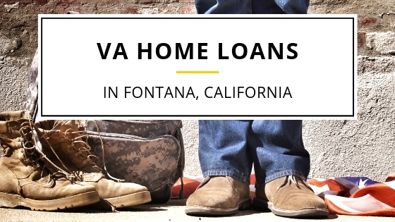 va home loans in fontana